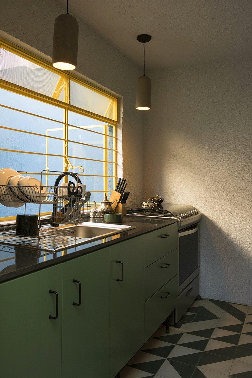 1970s Home Restoration - Juan Pablo Ochoa + Ruben Padilla - Mexico - Kitchen - Humble Homes