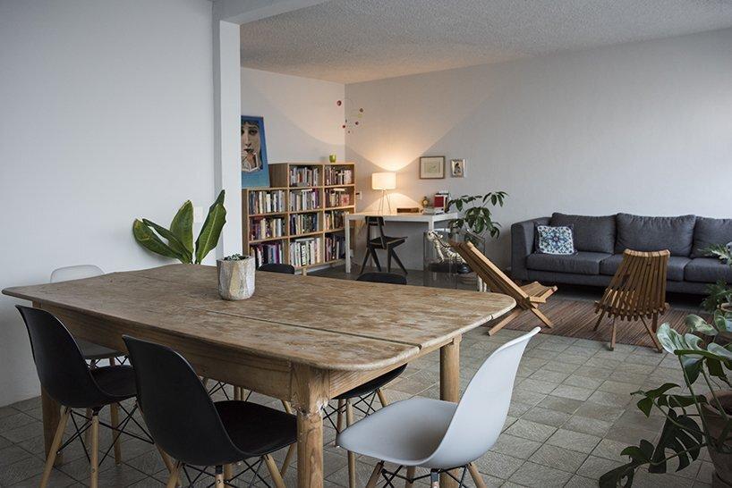 1970s Home Restoration - Juan Pablo Ochoa + Ruben Padilla - Mexico - Living Room - Humble Homes