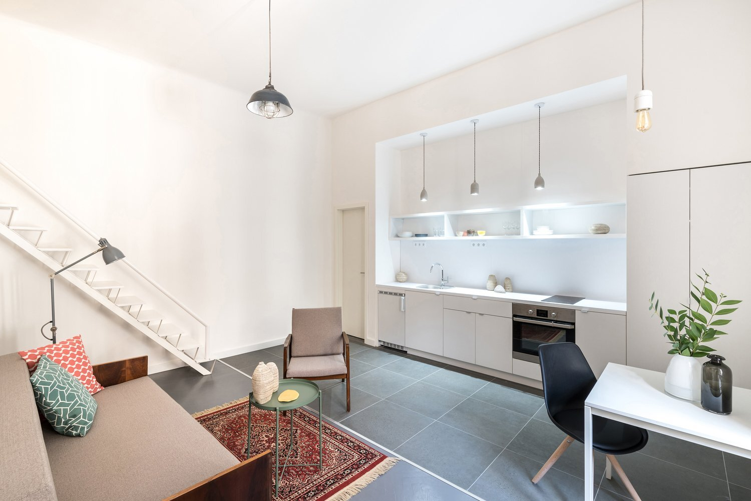 3in1 - Batlab Architects - Hungary - Kitchen - Humble Homes