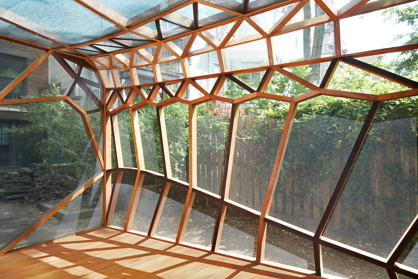 Dragonfly Pavillion - CDR Studio Architects - New Jersey - Interior Front - Humble Homes