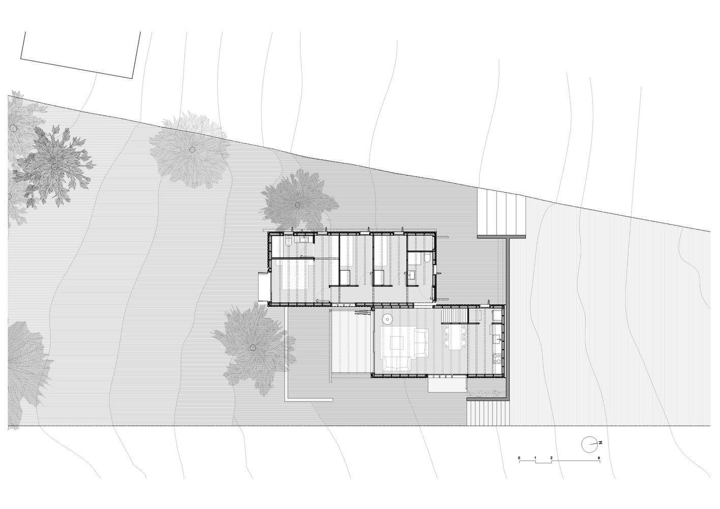 Font Rubi Cottage - Marc Mogas & Jordi Roig - Spain - Floor Plan - Humble Homes