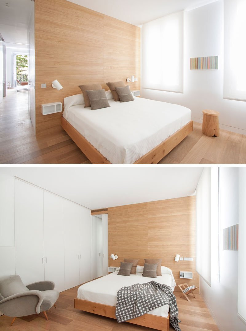 Small Contemporary Apartment - Lucas y Hernández-Gil - Madrid Spain - Bedroom - Humble Homes