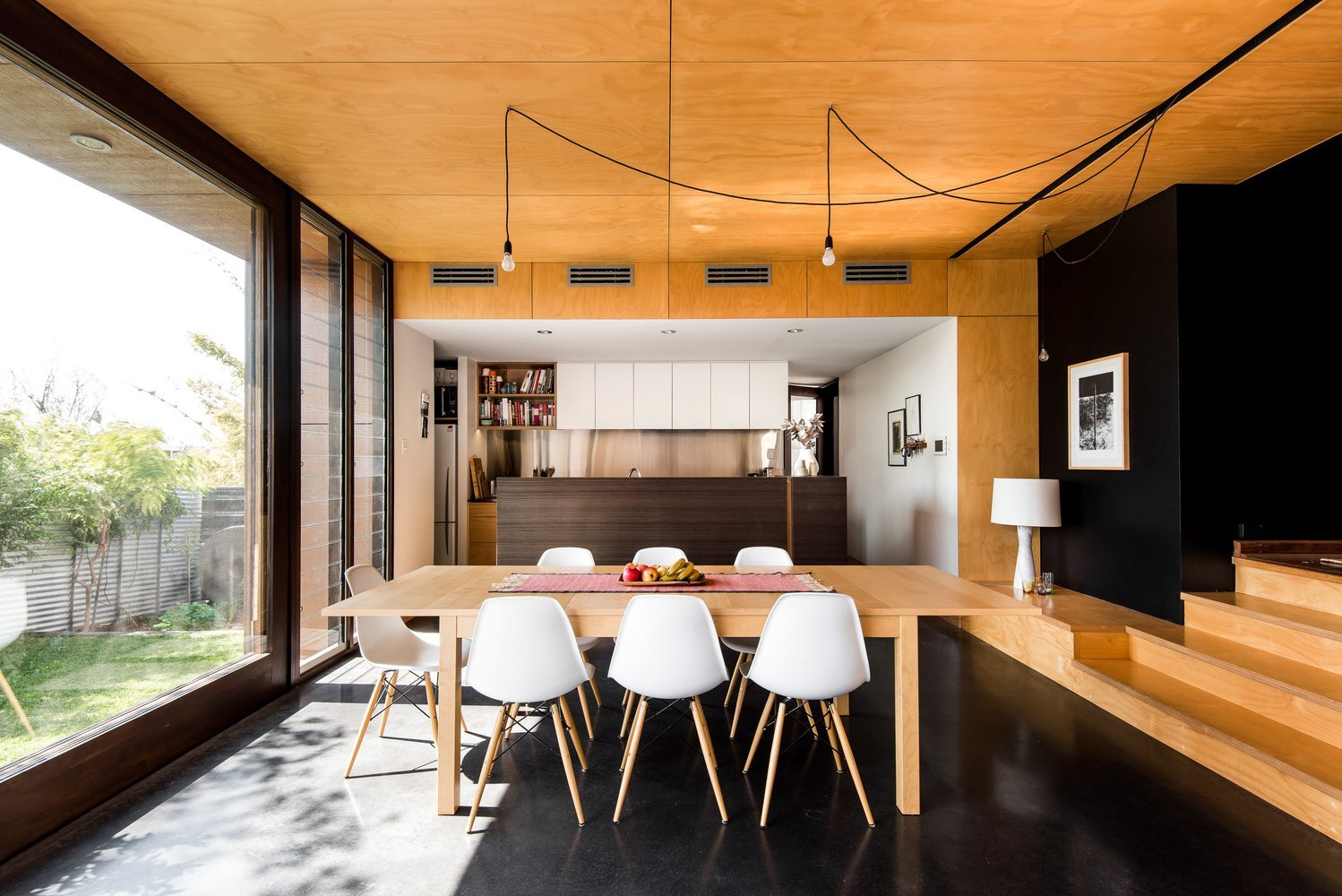 Gresley Monk Residence - Gresley Abas Architects + Justine Monk Design - Australia - Dining Room - Humble Homes