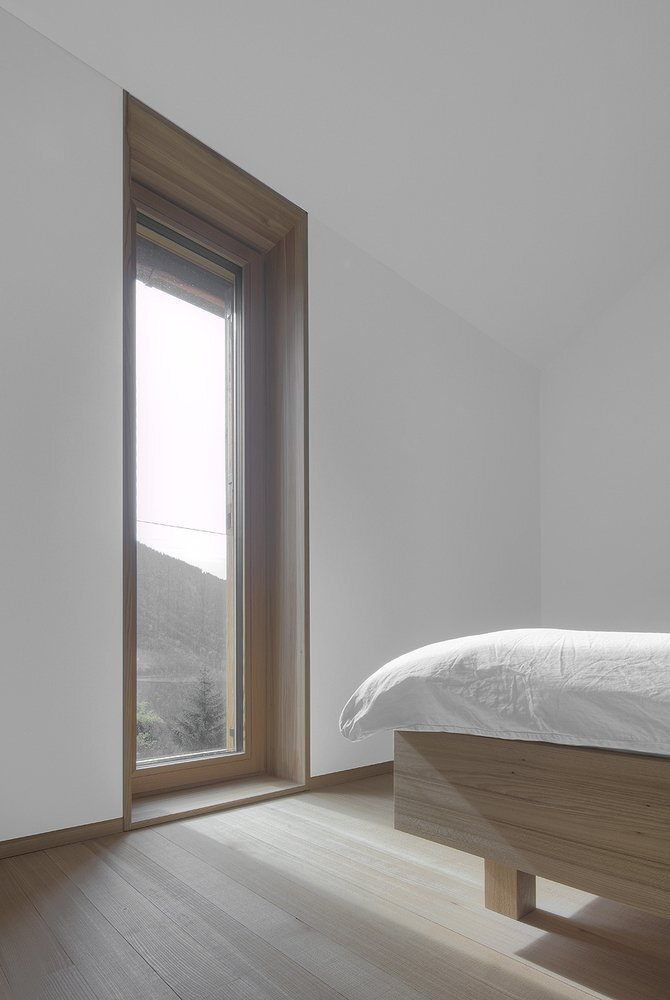 Haus am Stürcherwald - Bernardo Bader Architekten - Austria - Bedroom - Humble Homes