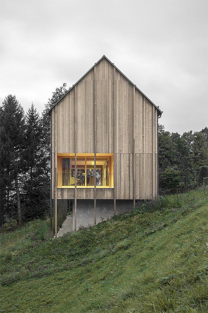 Haus am Stürcherwald - Bernardo Bader Architekten - Austria - Exterior 1 - Humble Homes