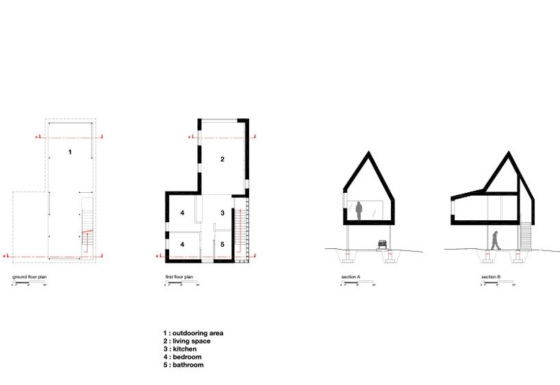 High House - Delordinaire - Quebec - Floor Plan - Humble Homes