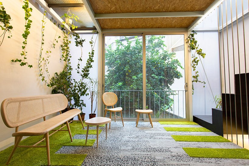 Living Garden Casa - ERA Architects - Spain - Ground Floor Sitting Area - Humble Homes