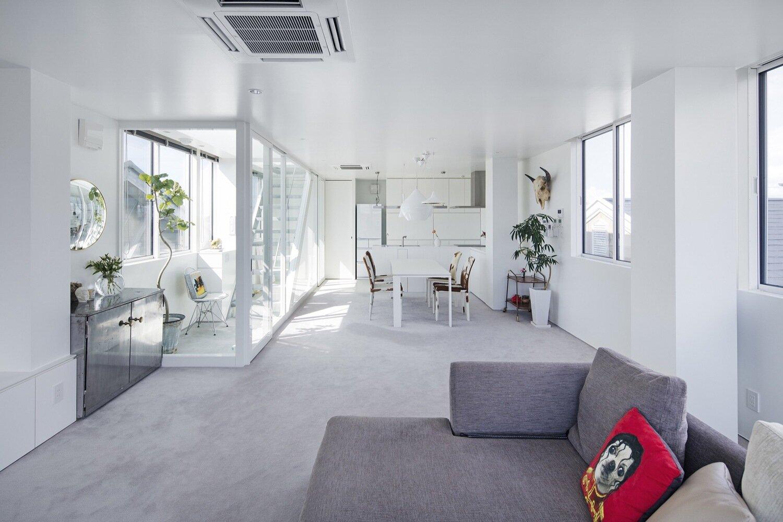 SHINBOHON HOUSE K - Yuichi Yoshida & Associates - Japan - Living Area 1 - Humble Homes