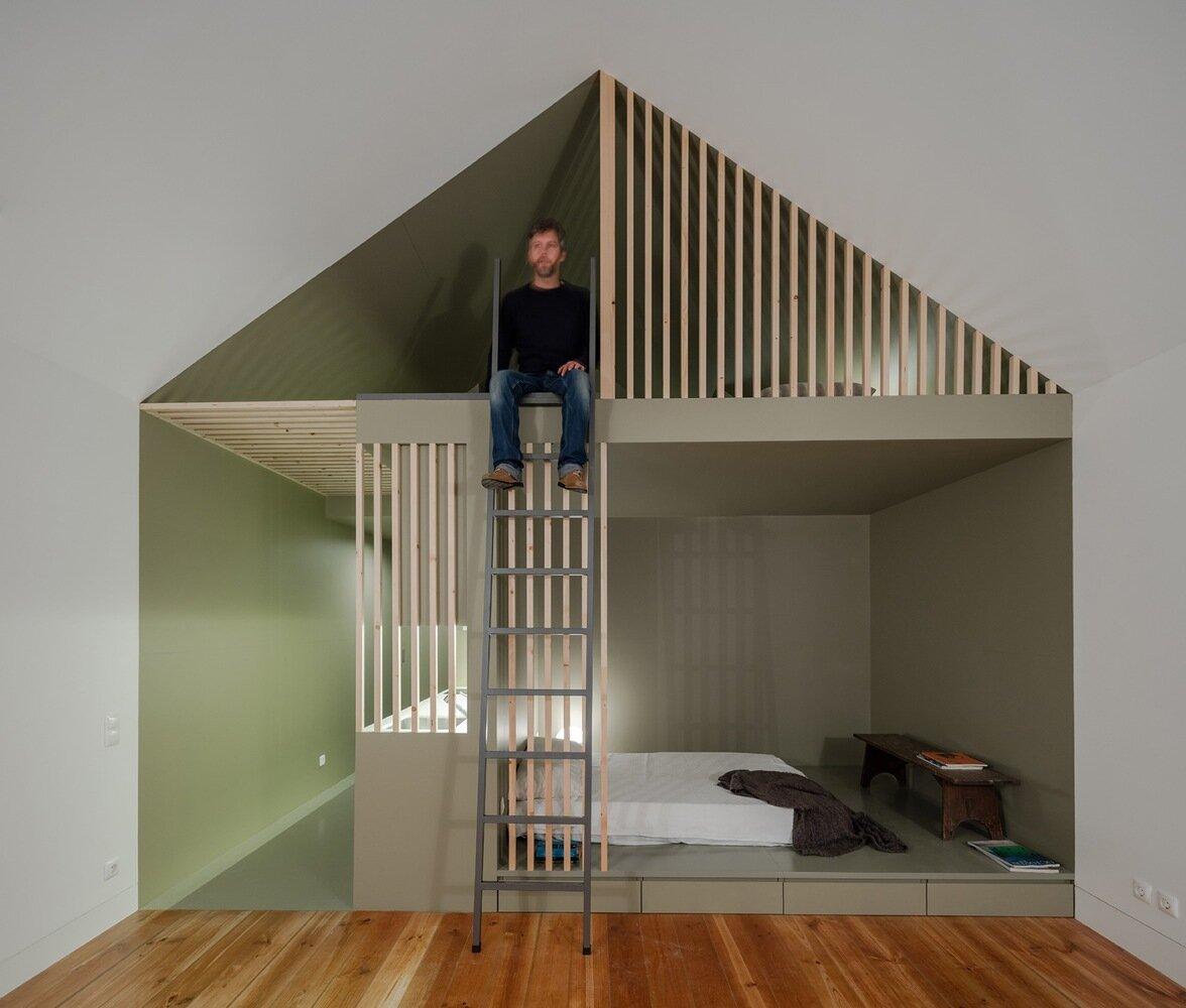 The Green House - URBAstudios - Portugal - Interior - Humble Homes